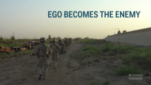Ego becomes the enemy