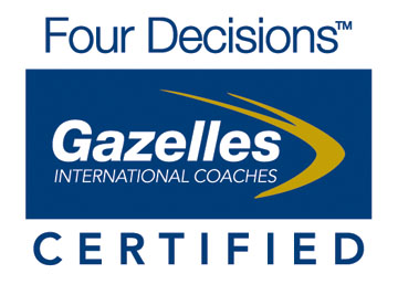 Gazelles Four Decisions certified logo