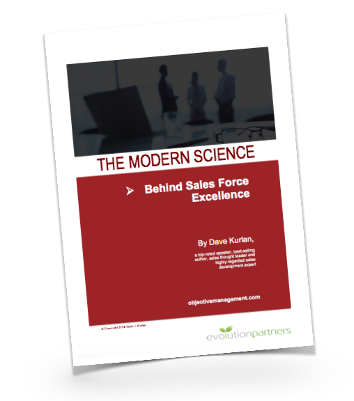 The Modern Science behind Sales Force Excellence