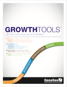 Gazelles growth tools