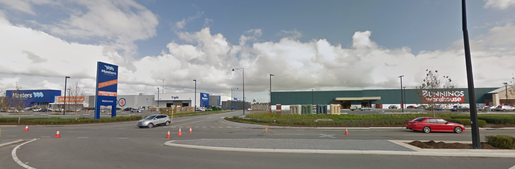 bunnings and masters next to each other