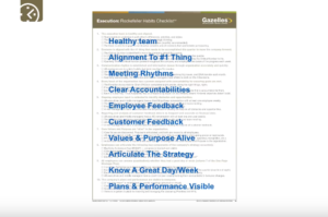 Rockefeller Habits Checklist detailed overview