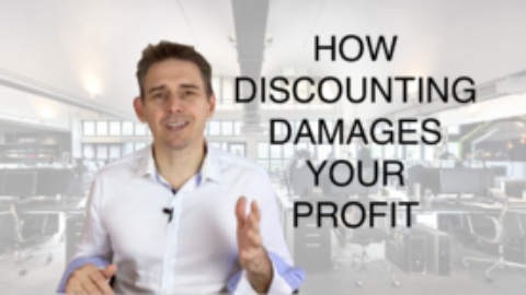 How Discounting Damages Profit